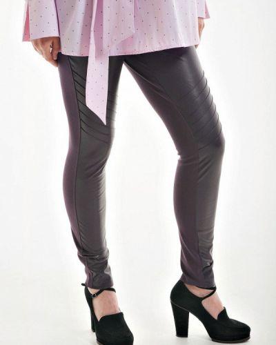 Фиолетовые зауженные брюки Week By Week