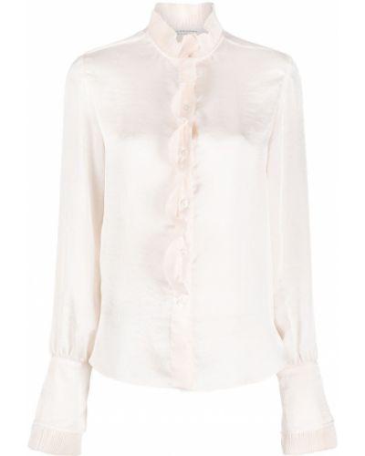 Блузка со вставками с воротником на пуговицах Philosophy Di Lorenzo Serafini