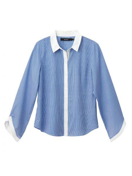 Рубашка с длинным рукавом в полоску прямая Vero Moda