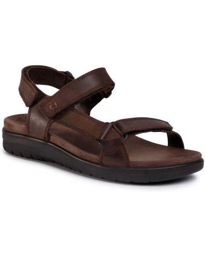 Skórzany sandały Imac