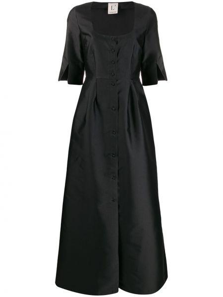 Платье на пуговицах с рукавами Lautre Chose