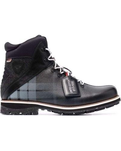 Кожаные ботинки - черные Rossignol