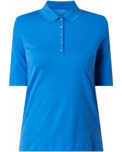 T-shirt bawełniana - niebieska Christian Berg Women