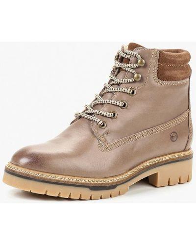 Кожаные ботинки осенние Tamaris