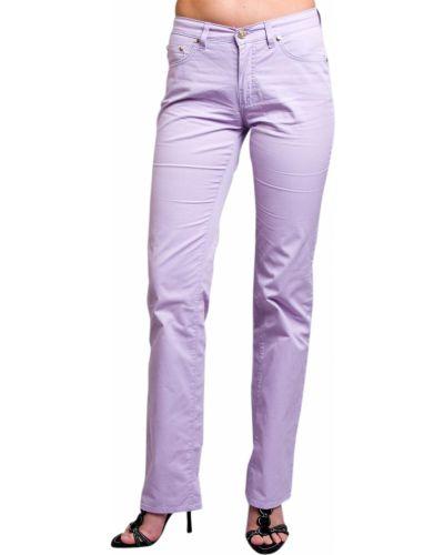 Фиолетовые джинсы Trussardi Jeans