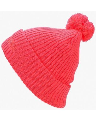 Розовая шапка осенняя Dc Shoes