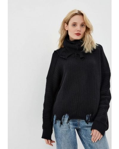 Черный свитер весенний One Teaspoon