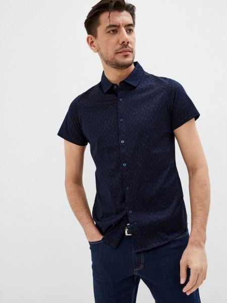 Синяя рубашка с короткими рукавами Henderson