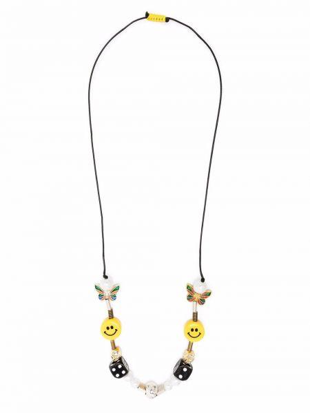 Белое ожерелье с жемчугом Salute