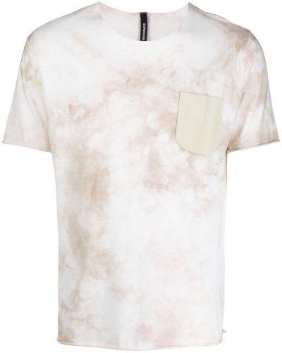 T-shirt bawełniany krótki rękaw z printem Giorgio Brato