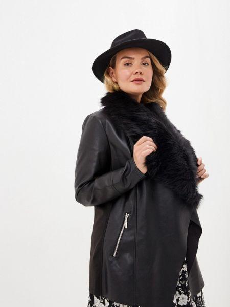 Кожаная куртка черная весенняя Evans