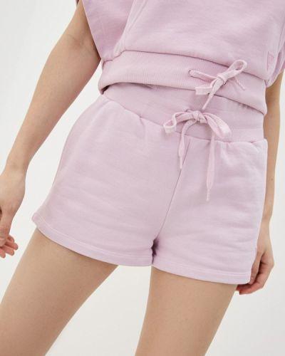 Джинсовые шорты - фиолетовые Guess Jeans