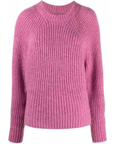 Różowy sweter Isabel Marant