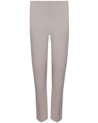 Кожаные серые брюки By Malene Birger