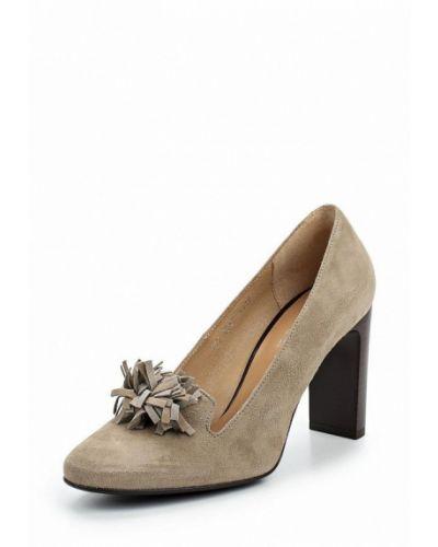 Туфли на каблуке велюровые Keryful