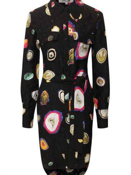 Платье шелковое Diane Von Furstenberg