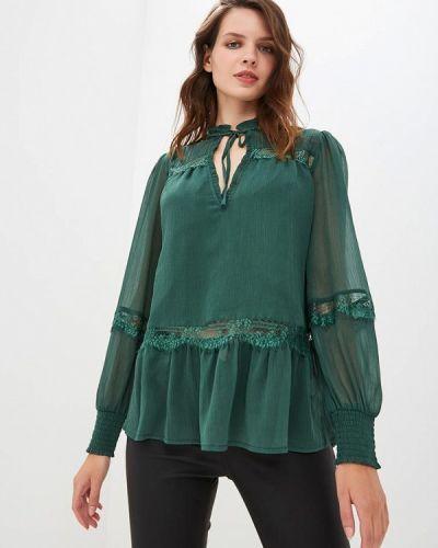 Зеленая блузка с длинным рукавом River Island