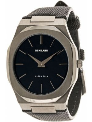 Нейлоновые часы - черные D1 Milano