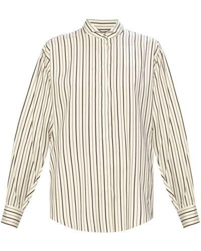 Koszula w paski w paski - czarna Isabel Marant