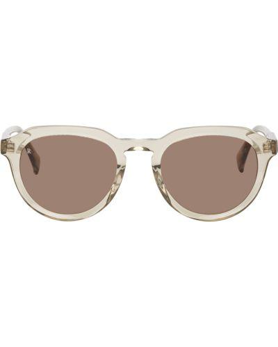 Fioletowe złote okulary Raen