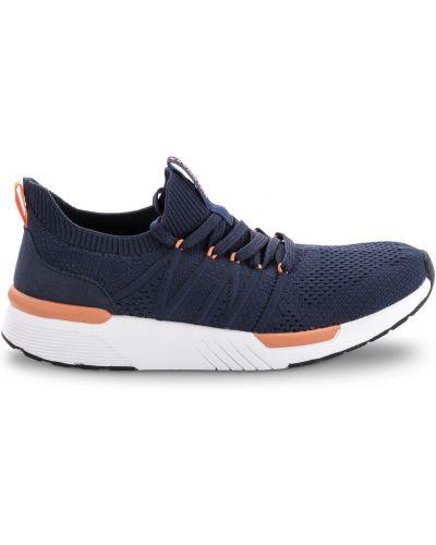 Кроссовки сетчатые - синие Walkmaxx
