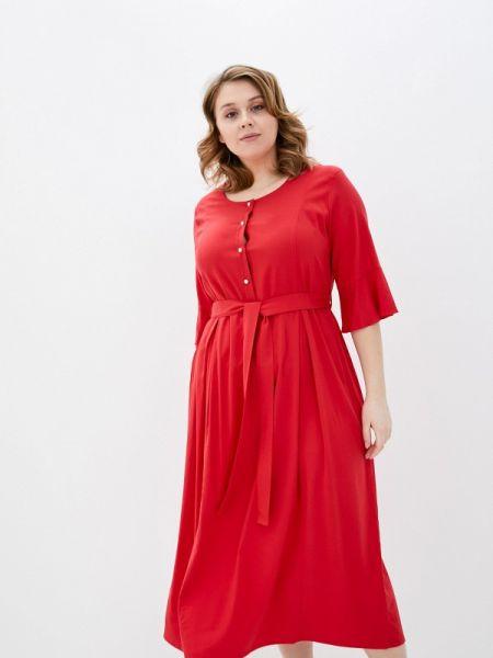 Платье - красное Averi