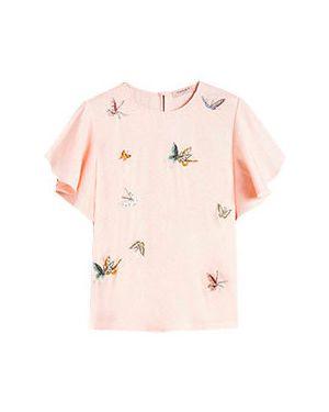 Блузка розовая Twinset