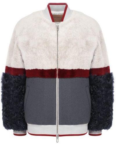 Куртка с мехом на овчине Drome