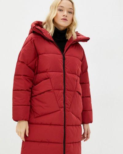 Утепленная куртка - красная Geox