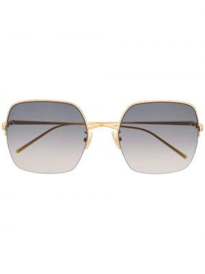 Прямые муслиновые солнцезащитные очки Boucheron Eyewear