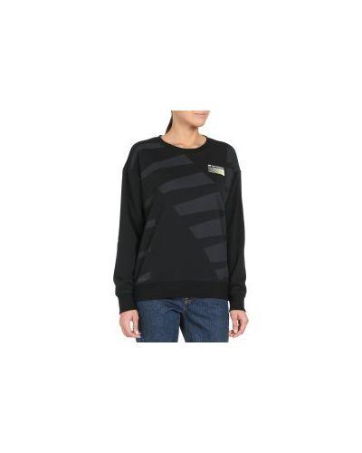 Черный свитер New Balance