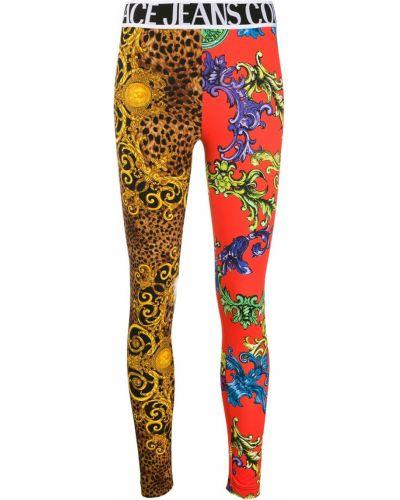 Джинсы с поясом Versace Jeans