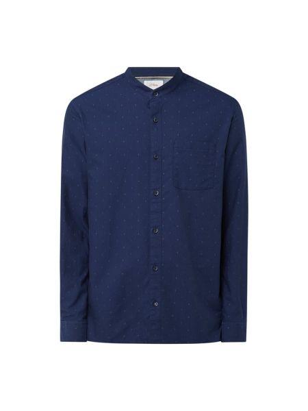 Koszula z długimi rękawami - niebieska S.oliver Red Label