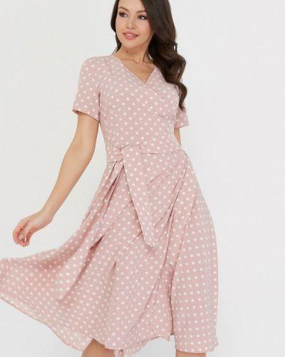 Платье миди розовое A.karina
