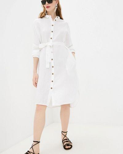 Платье рубашка - белое Cappellini