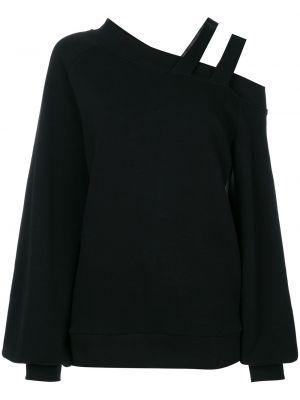 Черный вязаный свитер Ioana Ciolacu