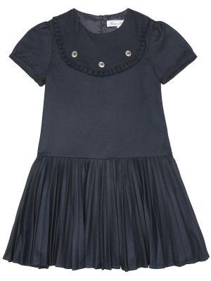 Школьное синее платье из вискозы Tartine Et Chocolat