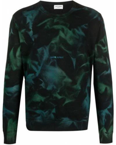 Czarna bluza dresowa Saint Laurent