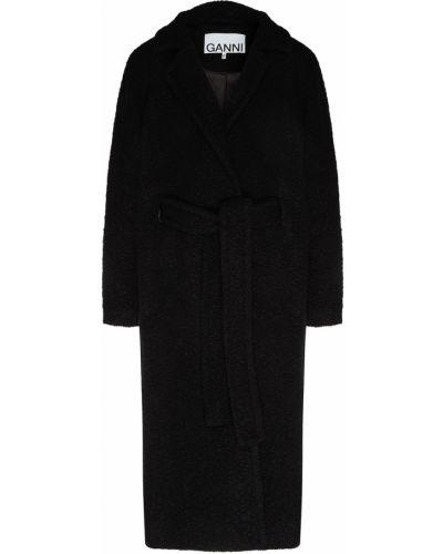Пальто оверсайз пальто-халат Ganni