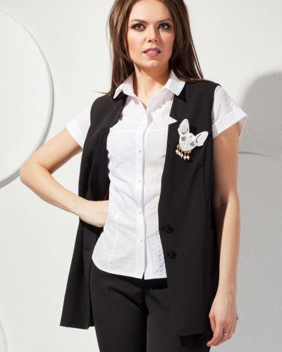 Модная жилетка с карманами на пуговицах Modellos