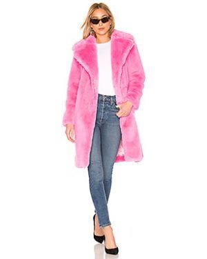 Акриловое пальто с капюшоном Milly
