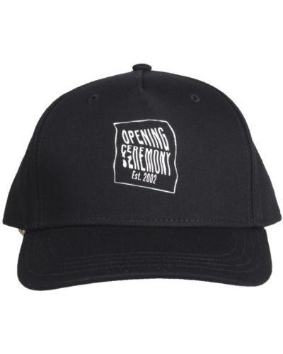 Czarna czapka z daszkiem Opening Ceremony