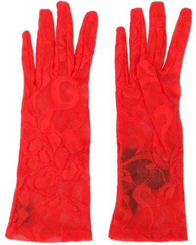 Перчатки - оранжевые Gucci
