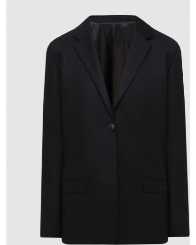 Шерстяной черный пиджак Toteme