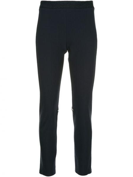 Облегающие прямые брюки с воротником Sykes