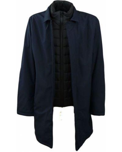 Niebieski płaszcz softshell People Of Shibuya