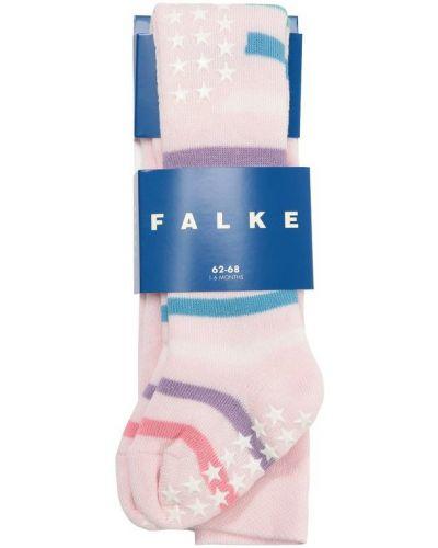 Розовые колготки Falke