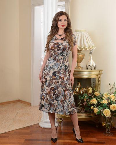 Платье платье-сарафан с вырезом Salvi-s