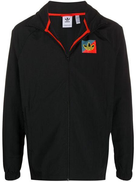 Куртка черная легкая Adidas