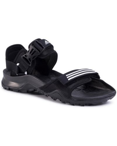 Czarny sandały Adidas